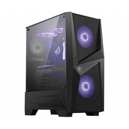 MSI MAG FORGE 100M RGB MID TOWER GAMING CABINET