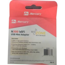 USB ADAPTER MERCURY WIRELESS N300 8517